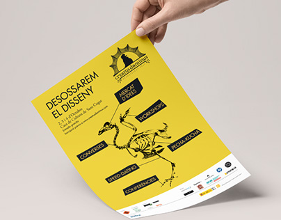 Poster design for a graphic design festival