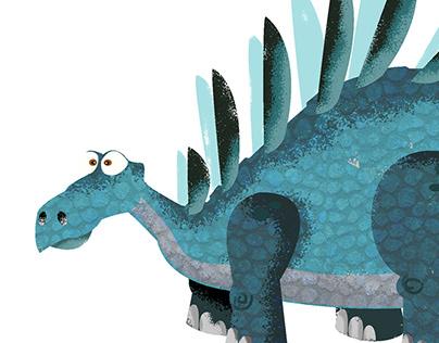Kentrosaurus Illustration