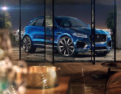 Jaguar F-Pace - Full CGI