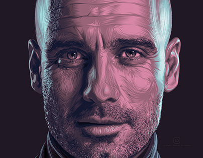"""Digital Portraits: Soccer """"Collection"""" #1"""