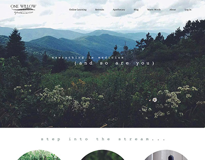 One Willow Apothecaries Website Build & Design