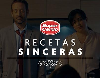 RECETAS SINCERAS SUPER CERDO