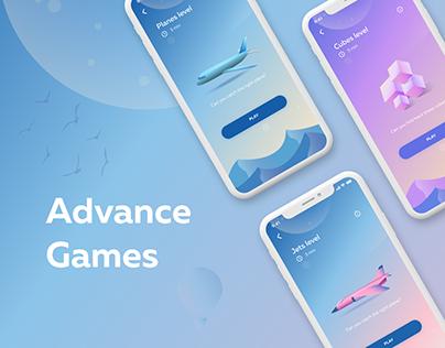 Advance Tests-game app