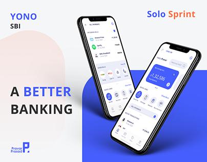 YONO SBI - Redesigning Mobile Banking
