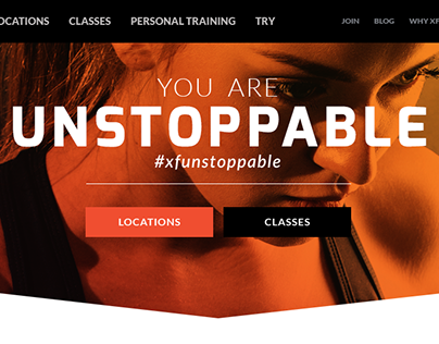 Website Redesign (Xperience Fitness)