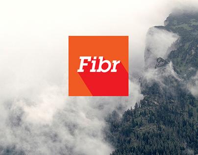 Fibr -Cloud Service || Speed Mockup