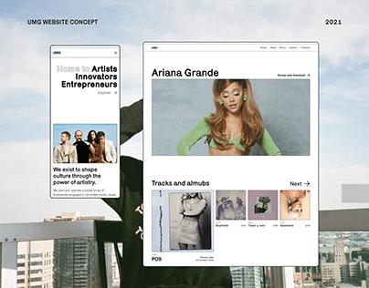 Universal Music Group - corporate website