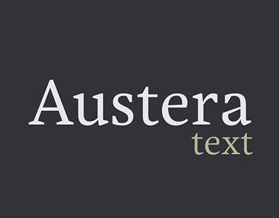 Austera Text - Font Family