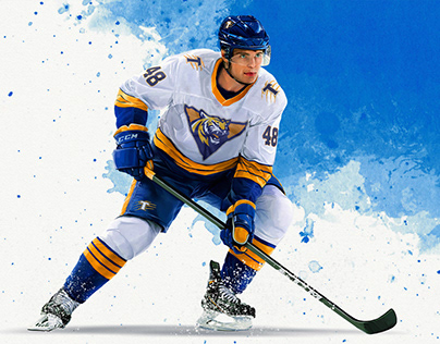 illustrations for hockey clubs