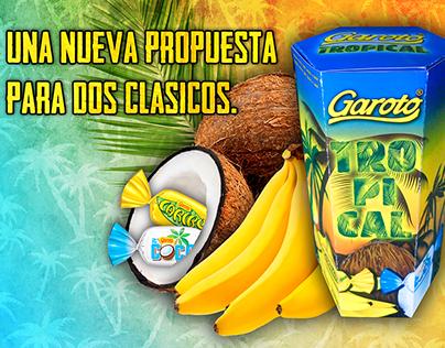 Diseño de packaging de edición limitada - GAROTO