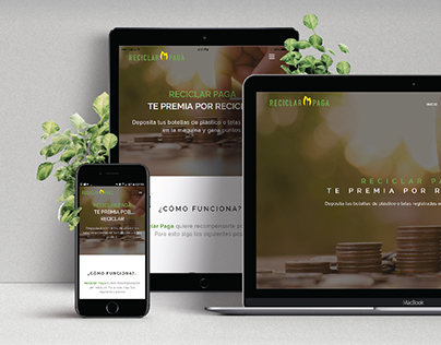 Reciclar Paga - Webdesign