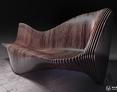 Parametric Chaise-long