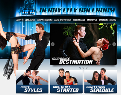 Derby City Ballroom Website