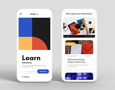 Creative learning platform