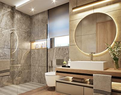 Moden bathroom
