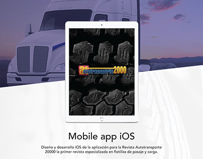 Mobile app iOS | Autotransporte 2000
