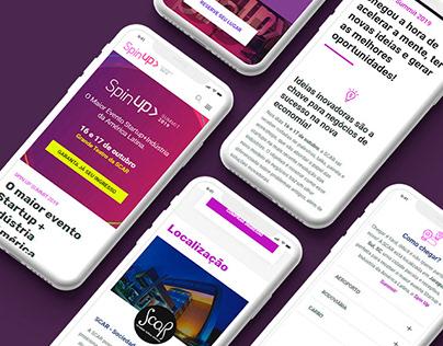 SpinUp Summit 2019 . Site