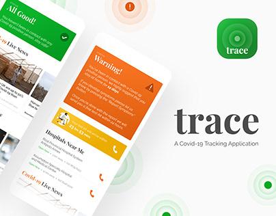 Trace: Covid-19 Tracing App UI
