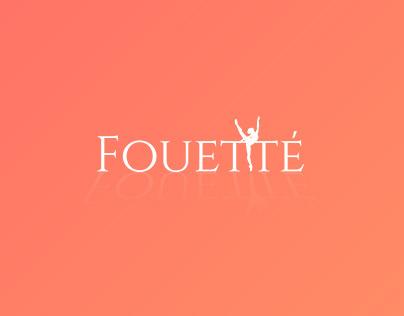"Logo for ""Dance school Fouette"""