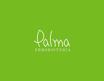 Logo e biglietto da visita per Palma erboristeria