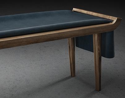 Furniture Render - Bench