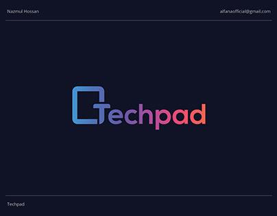 Techpad - Logo Design
