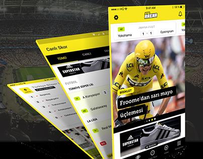 Spor Arena Mobile App