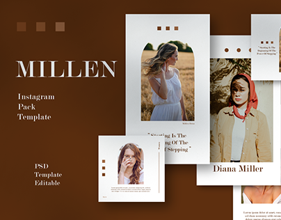 MILLEN Instagram Template