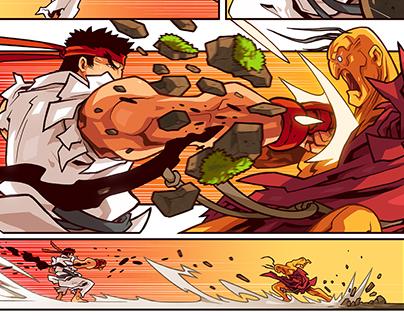Ryu vs Oro