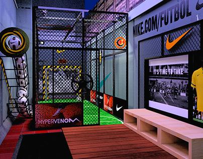Nike - Hypervenom Shooting Cage