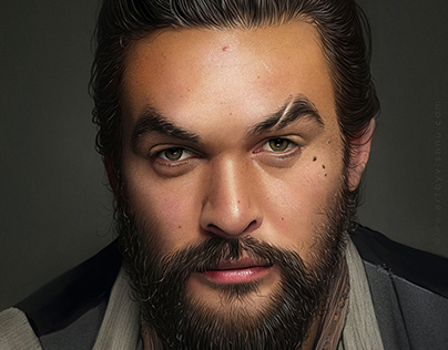 Jason Momoa -Digital Portrait