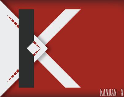 Kanban-X App (Logo & Branding)