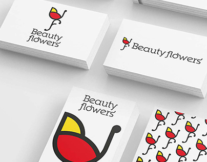 "Branding ""Beauty Flowers"" - Logo Design"