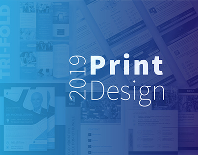 PRINT DESIGN: brochures, flyers, advertisements