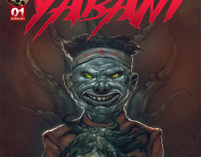 Cover arts for Yabani Magazine.