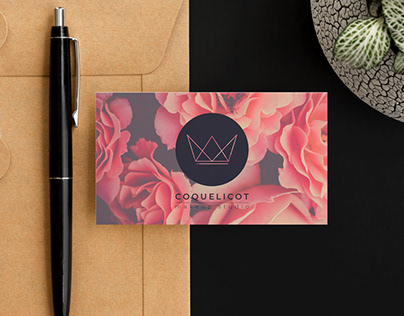COQUELICOT MAKEUP (Logo + Branding)