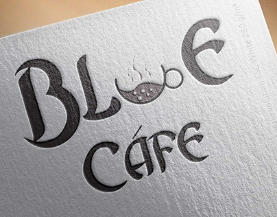 Blue Cafe Logo