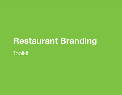 Branding Toolkit - Uber Eats