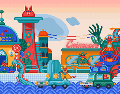 Crimson Cat's Adventure - Water Town's Curse