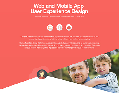 Mentoring Platform User Experience Design