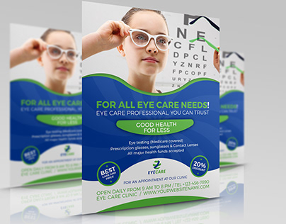 Optometrist & Optician Flyer Template