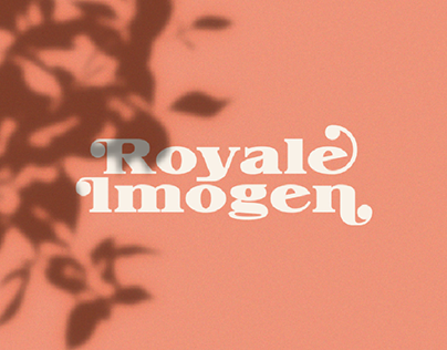 Royale Imogen | romantic display serif typeface