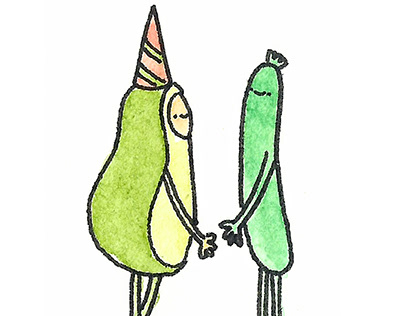 Avocado & Zucchini