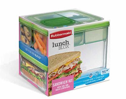 Rubbermaid® Lunchblox packaging concept development