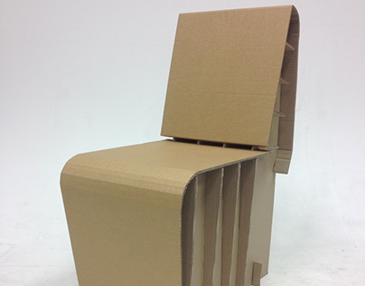Cardboard Chair Challenge