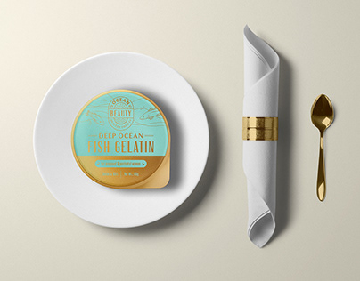 Packaging for Ocean Beauty Co (concept)