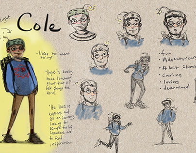 Cole Character Development Sheet