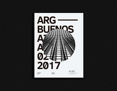 Plot Architecture magazine/ University project