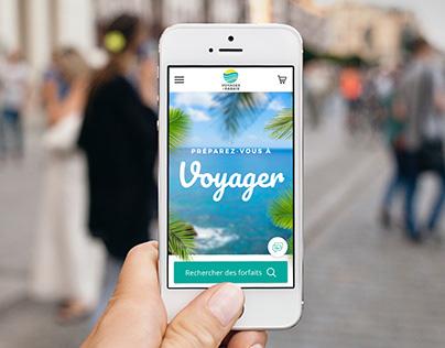 Voyages à Rabais - Plateforme numérique