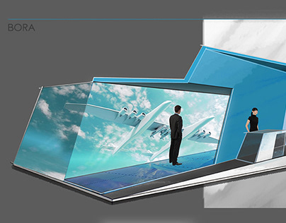 Aviation Experiential Exhibition Stand Concept